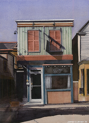 Jeff Jensen McKinney Texas Watercolor Painter
