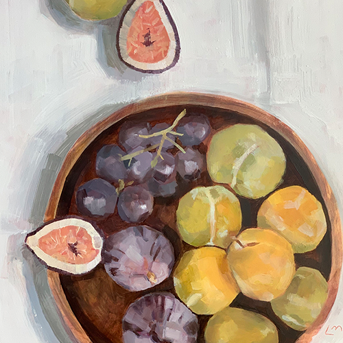 "'Figs and Such"", Oil 11x14"